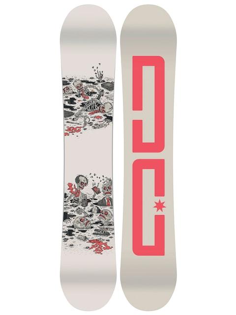 Deska snowboardowa DC Pbj (creme/red)