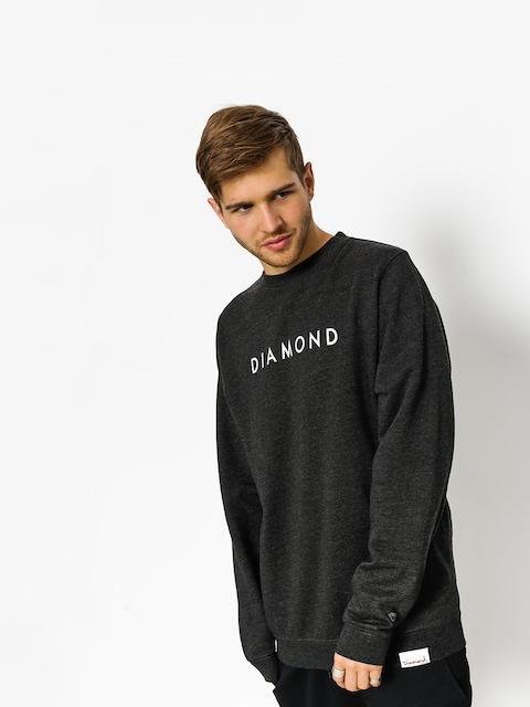 Bluza Diamond Supply Co. Futura Crew Neck (charcoal heather)