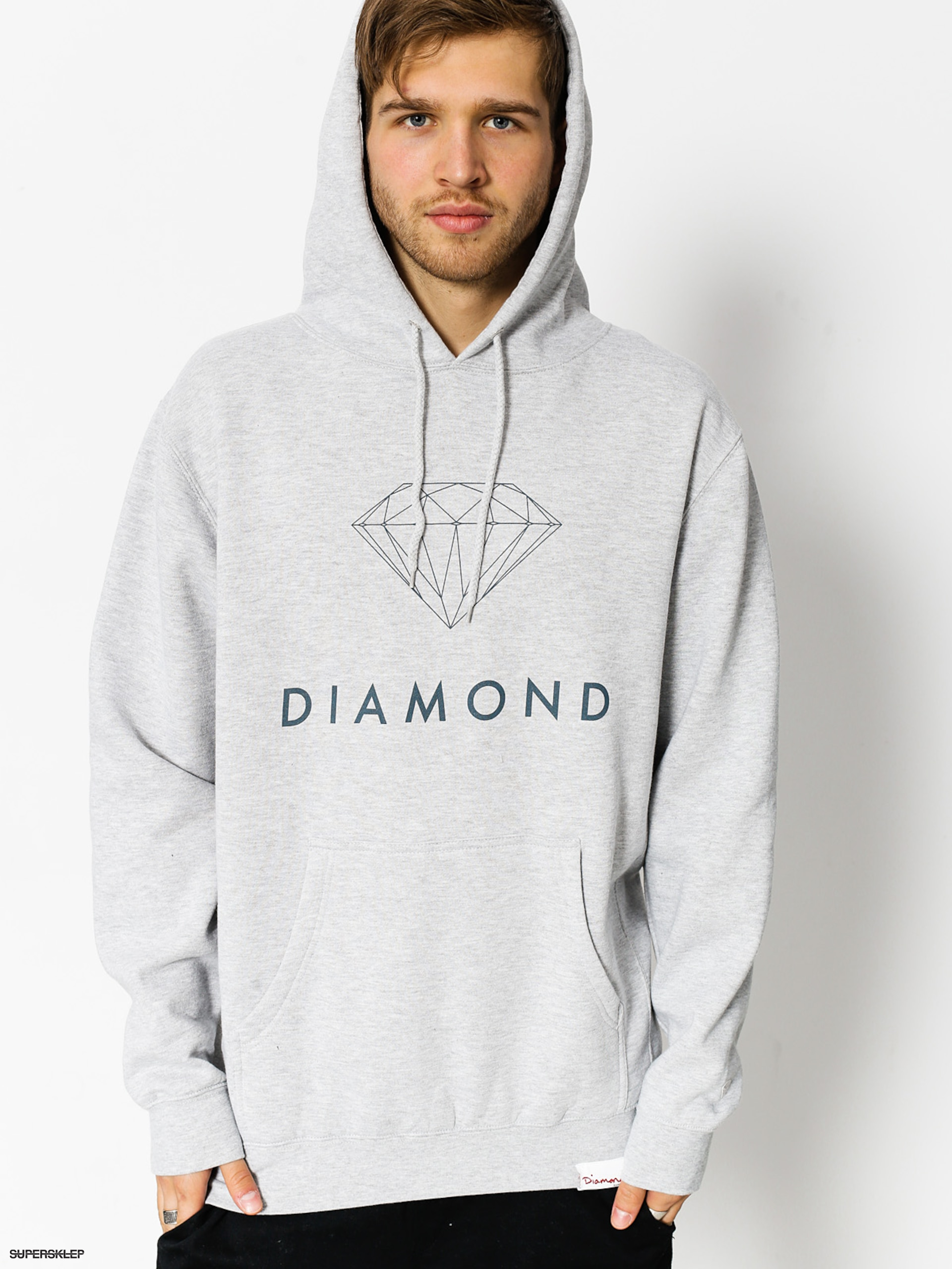 Bluza z kapturem Diamond Supply Co. Futura Sign HD