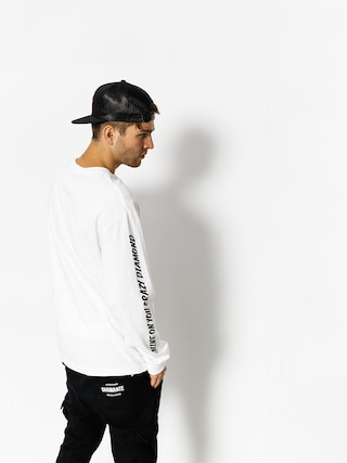 Longsleeve Diamond Supply Co. Outshine (white)