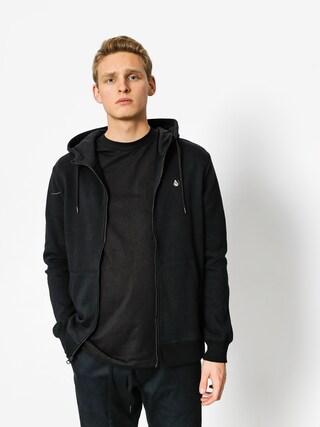 Bluza z kapturem Volcom Sngl Stn ZHD (blk)