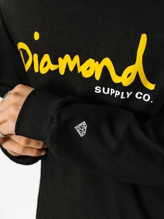 Longsleeve Diamond Supply Co. Og Script (black)