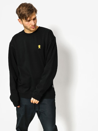 Bluza Grizzly Griptape Og Bear Embroidered Crewneck (black)
