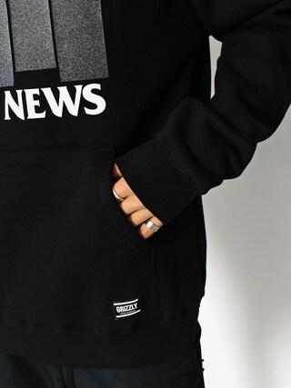 Bluza z kapturem Grizzly Griptape Bad Flag HD (black)