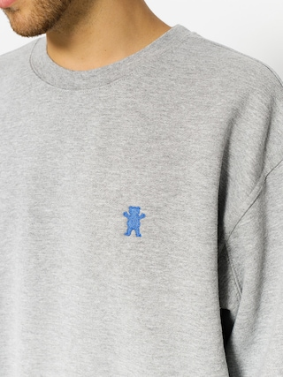 Bluza Grizzly Griptape Og Bear Embroidered Crewneck (heather grey)