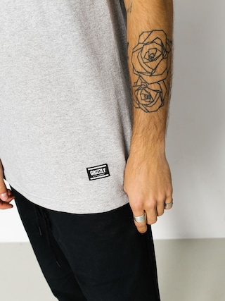 T-shirt Grizzly Griptape Cement Pocket (heather black)
