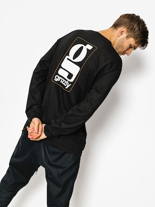 Longsleeve Grizzly Griptape Gentlemans (black)