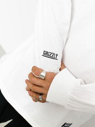 Longsleeve Grizzly Griptape Gentlemans (white)