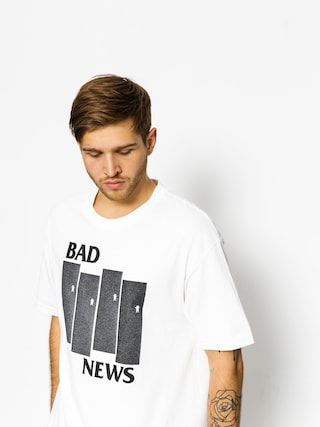 T-shirt Grizzly Griptape Bad Flag (white)