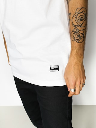 T-shirt Grizzly Griptape Lowercase (white)