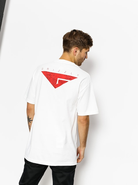 T-shirt Grizzly Griptape Cement (white)