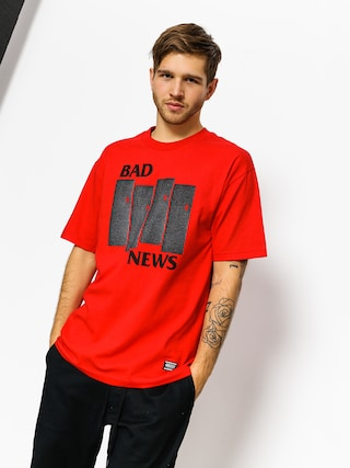 T-shirt Grizzly Griptape Bad Flag (red)