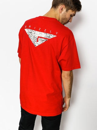 T-shirt Grizzly Griptape Cement (red)