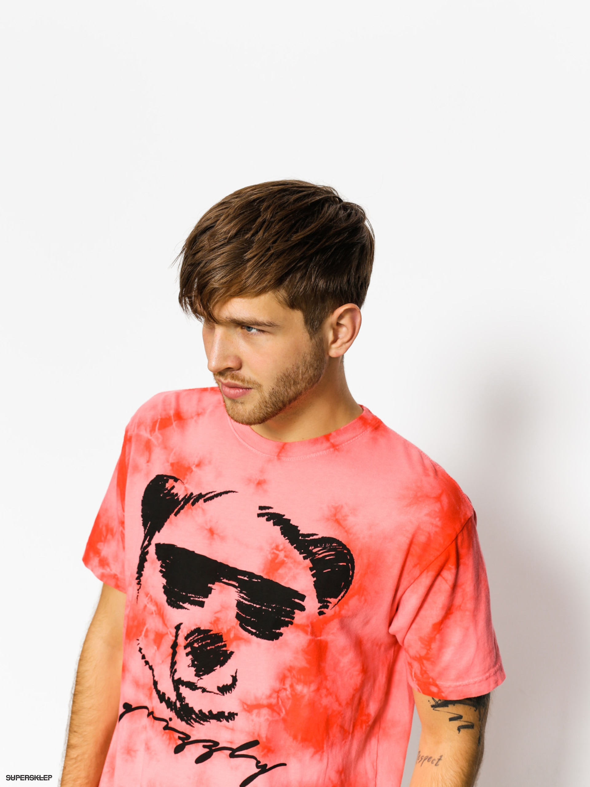 T-shirt Grizzly Griptape Coolin (red)