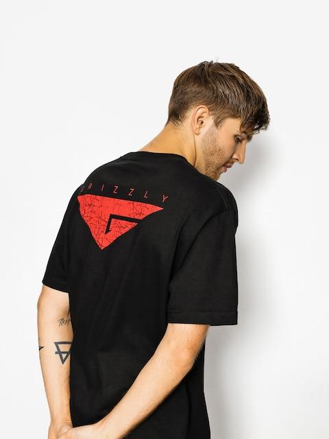 T-shirt Grizzly Griptape Cement (black)
