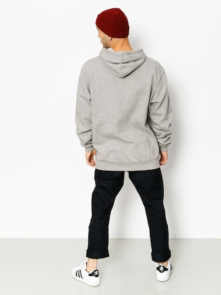Bluza z kapturem Iriedaily Heavy Rib HD (grey mel)