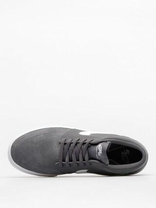 Buty Nike SB Sb Solarsoft Portmore II Mid (dark grey/white)