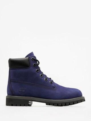 Buty dziecięce Timberland 6 In Premium Wp (dark blue nubuck)
