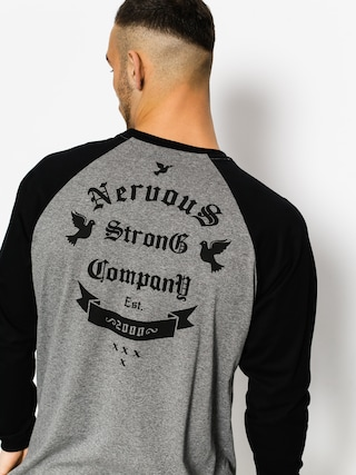 Longsleeve Nervous Arms (graphite/black)