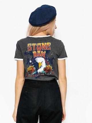 T-shirt Volcom Lets Go Ringer Wmn (blk)