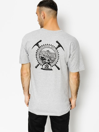 T-shirt Antihero Bckfil Hstry (athletic heather/black)