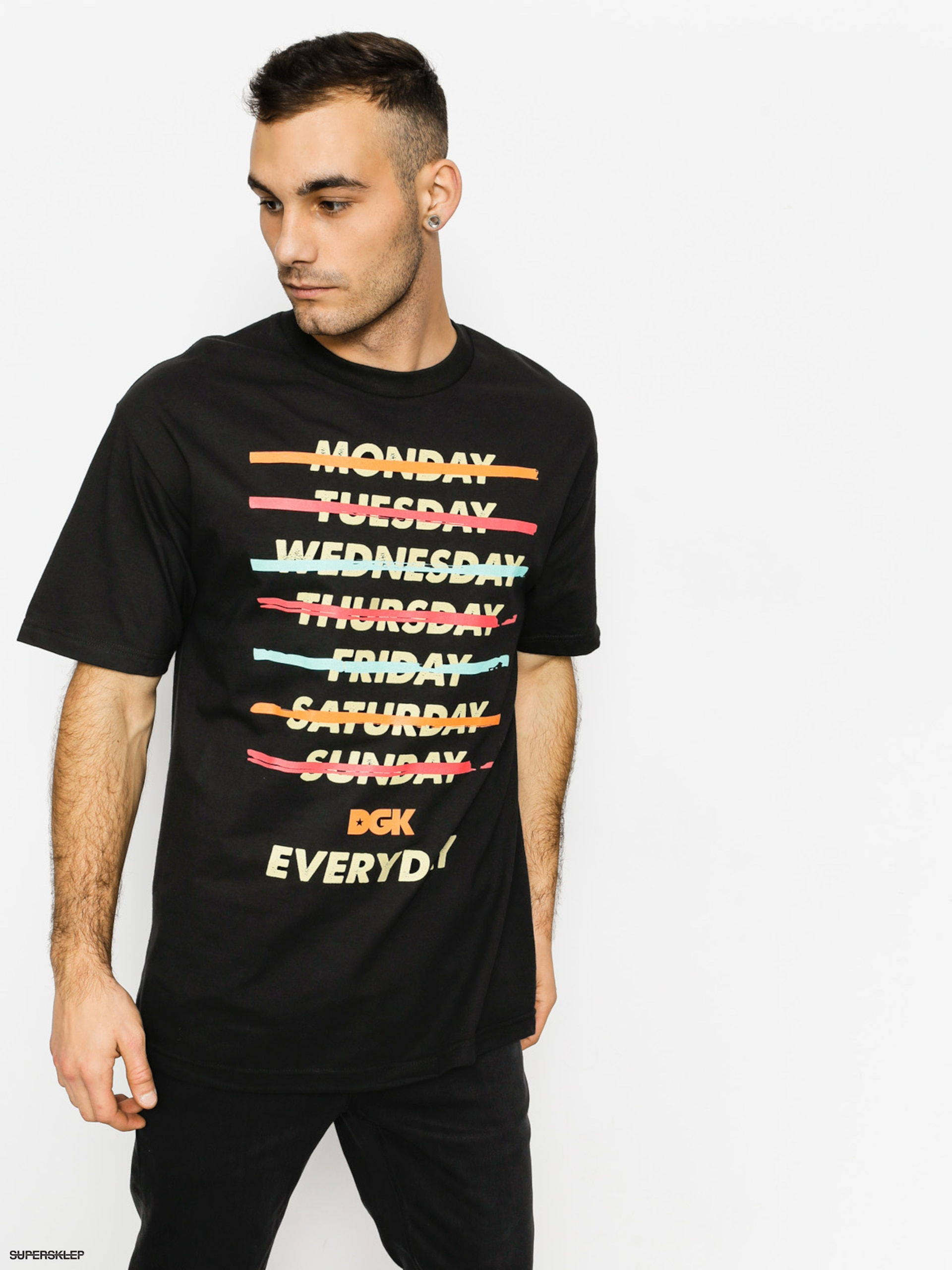 T-shirt DGK Everyday (black)
