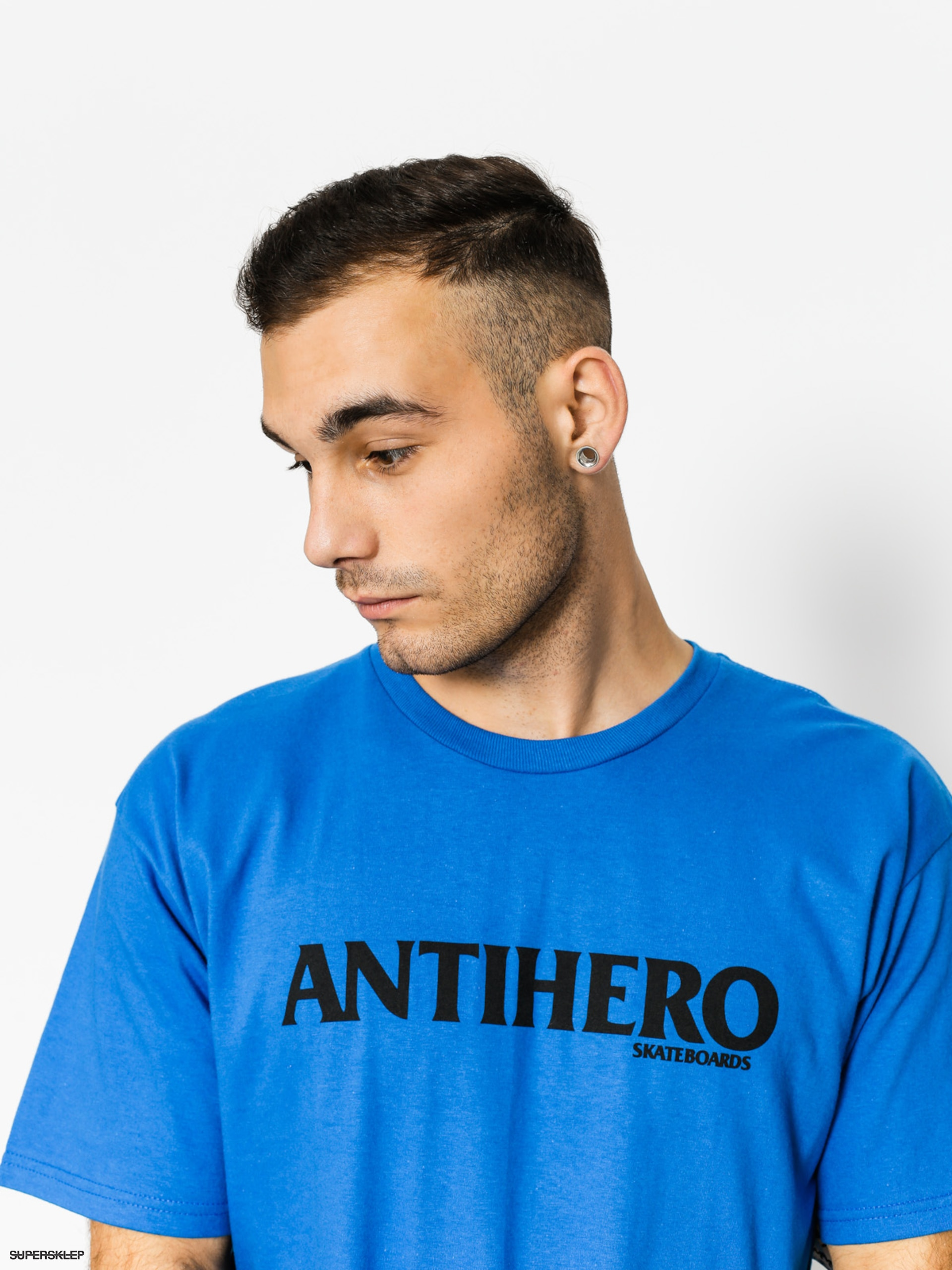 T-shirt Antihero Blackhero Long