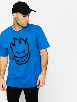 T-shirt Spitfire Big Head (royal/black)
