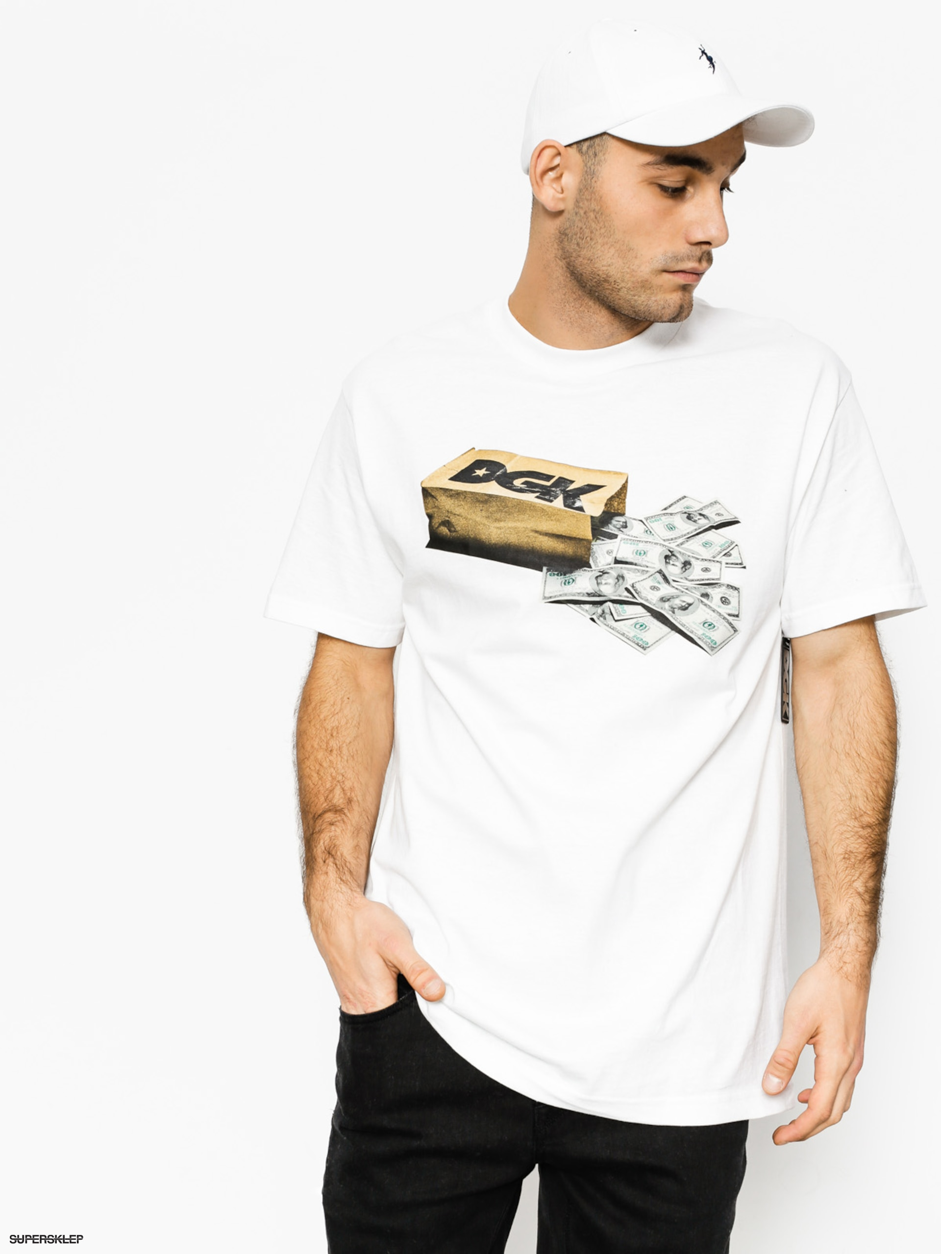 T-shirt DGK Money Bag (white)