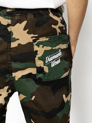 Spodnie Diamante Wear Jogger Classic Wmn (woodland camo)