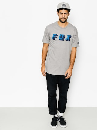 T-shirt Fox Barring Premium (htr drk gry)