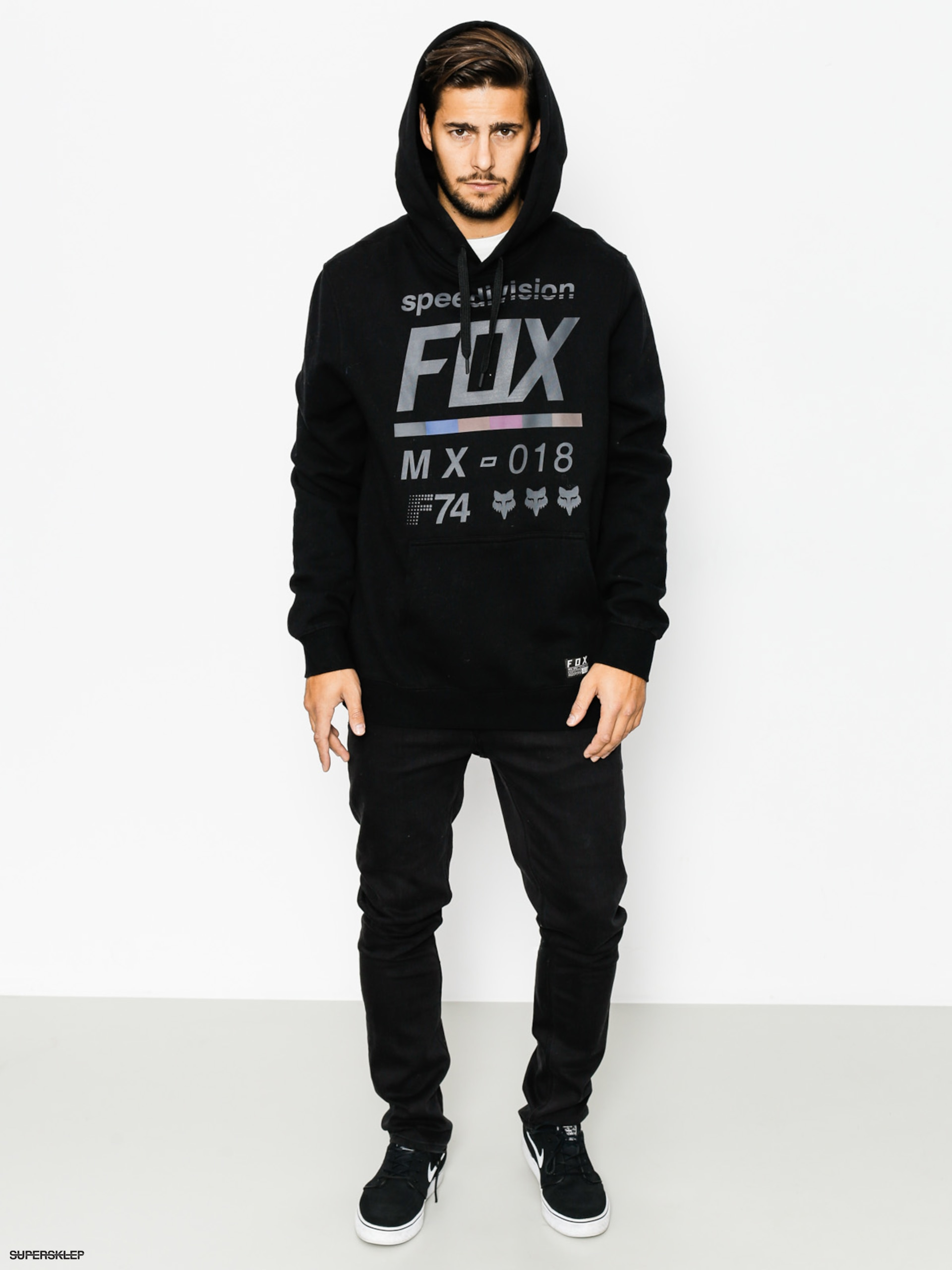 Bluza z kapturem Fox District 3 HD