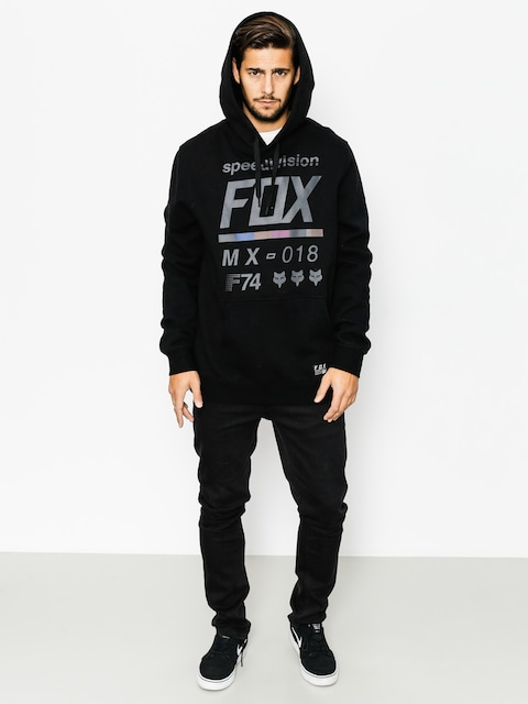 Bluza z kapturem Fox District 3 HD (blk)