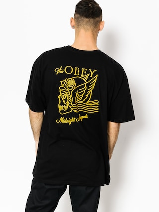 T-shirt OBEY Midnight Angels (black)