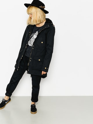 Kurtka Volcom Walk On By Parka Wmn (blk)