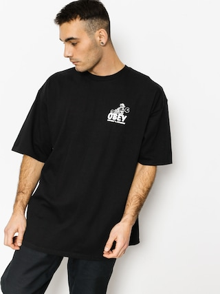 T-shirt OBEY Monkey Wrench (black)