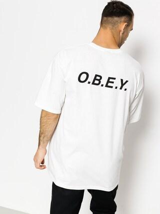 T-shirt OBEY O.B.E.Y. (white)