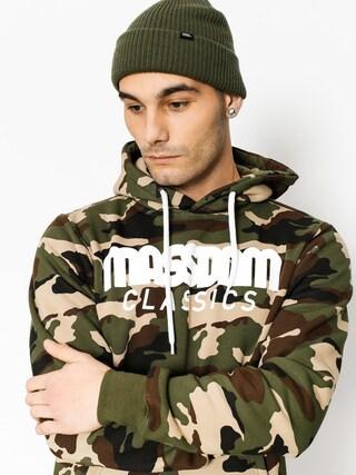 Bluza z kapturem MassDnm Classics HD (woodland camo)