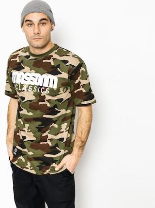 T-shirt MassDnm Classicss (woodland camo)