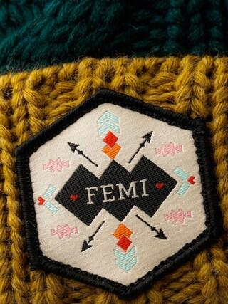 Czapka zimowa Femi Stories Faga Wmn (hgr)