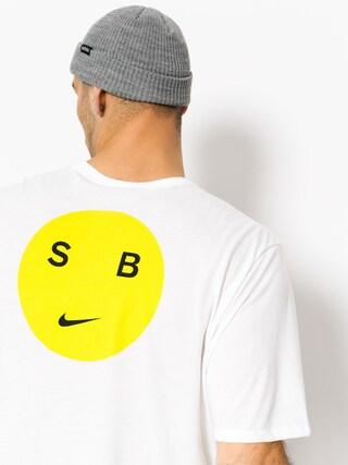 T-shirt Nike SB Sb Dry Db Smiley (white/opti yellow)