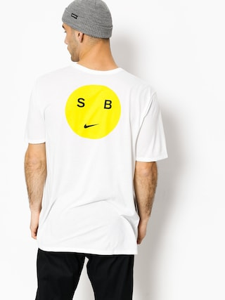 T-shirt Nike SB Sb Dry Db Smiley (white/opti yellow)