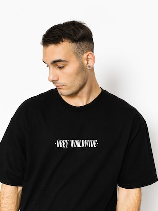 T-shirt OBEY Obey New Times Worldwide (black)
