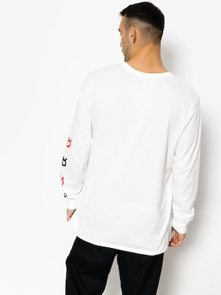 T-shirt Nike SB Sb Dry Tee Dfc Ls Brnd (white/black/university red)