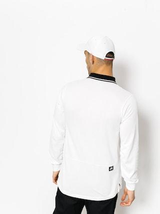 Polo Nike SB Nk Sb Dry Ls (white/black/black)