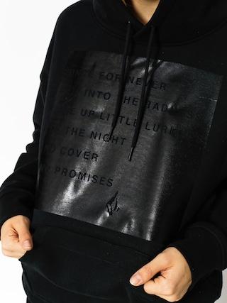 Bluza z kapturem Volcom Burn City Wmn (blk)