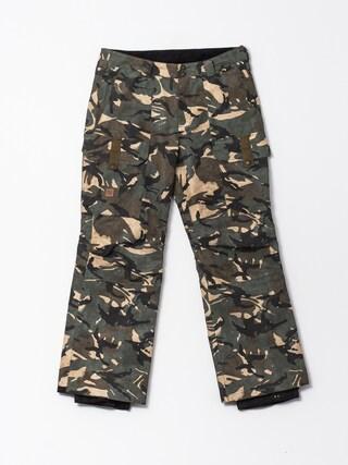 Spodnie snowboardowe DC Code (woodland camo)
