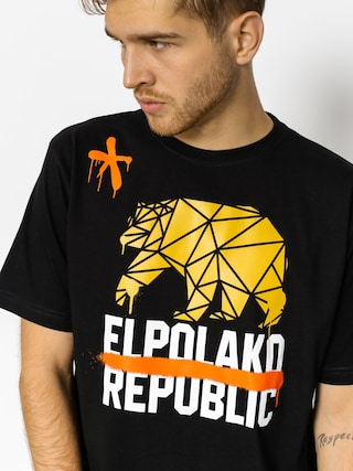 T-shirt El Polako Republic (black)
