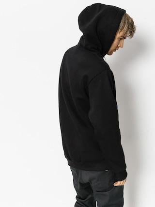 Bluza z kapturem El Polako Rap Nie Umiera HD (black)
