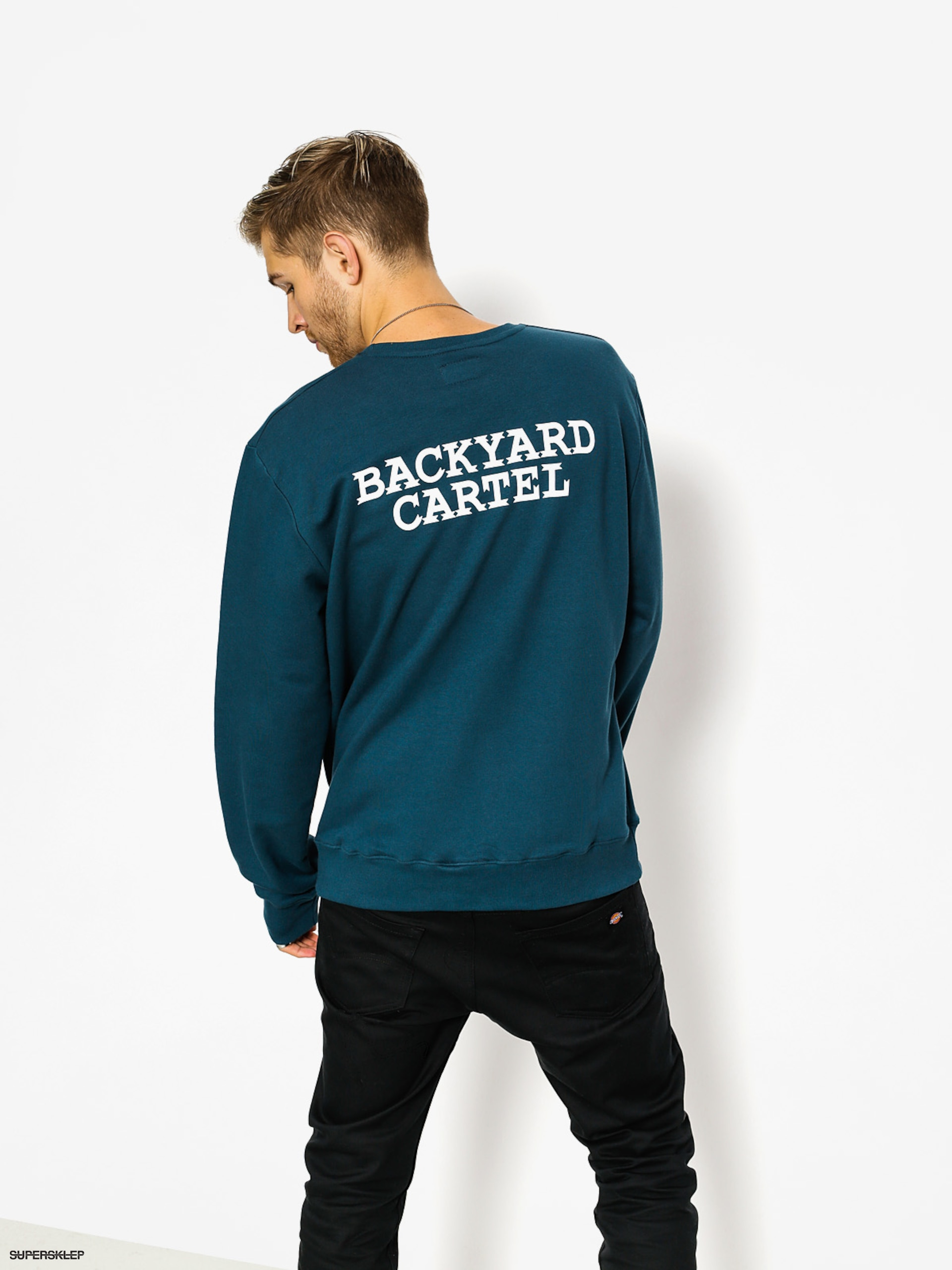 Bluza Backyard Cartel Back Label (navy)